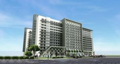 elevation picture of jade business park mohali.
