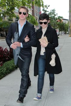 Ginnifer Goodwin - Ginnifer Goodwin and Josh Dallas in NYC