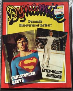 Dynamite Magazine Christopher Reeve Lynn-Holly Johnson 80s Kids English Monthly…