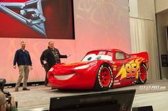 John Lasseter and a few other Pixar employees were on-hand to present a sneak peek at the upcoming Summer hit, Cars 3. Take a look at some concept artwork, videos and more from the event.