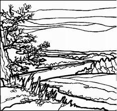 landschaften malvorlagen - malvorlagen1001.de. | ausmalbilder landschaften und häuser
