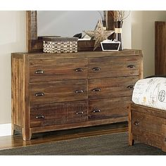 Shop for Magnussen River Ridge Wood 6-drawer Dresser. Get free shipping at Overstock.com - Your Online Furniture Outlet Store! Get 5% in rewards with Club O! - 16693099