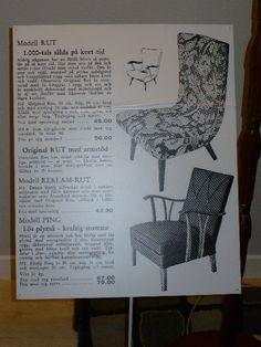 Photo: Ikea's old furniture drawings