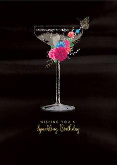 Debbie Edwards - _female-birthday-sister-friend-wife-girlfriend-bubbly-champagne-with-flowers