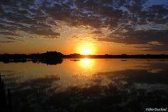 O céu do Pantanal.