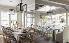 27 Calm And Beautiful Neutral Dining Room Designs