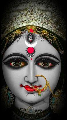 Durga Picture, Maa Durga Photo, Maa Durga Image, Durga Kali, Kali Hindu, Kali Mata, Shiva Shakti, Durga Images, Krishna Images