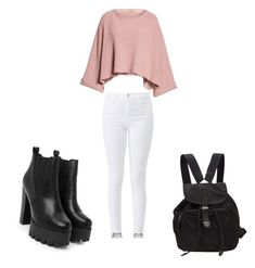 """Untitled #1"" by denier22 on Polyvore featuring Free People, J Brand, Nasty Gal and Prada"