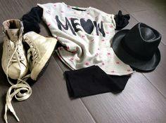 Look kids - Hat catya - Sneakers Crime London - Shirt Underfloors of Benetton - www.momeme.it