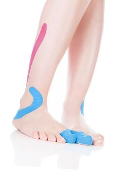 tape your feet to get rid of bunions