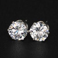 17KM Brand Design New hot Fashion Popular Luxury Crystal Zircon Stud  Earrings Elegant earrings jewelry for df74f6c0030b