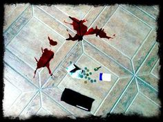 Virtual murder scene. Try to solve it!