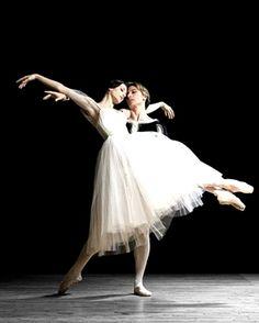 """<<Happy Birthday Irina! # Irina Dvorovenko (American Ballet Theatre) was born on October 28, 1971 in Kiev, Ukraine # Irina Dvorovenko and Maxim Belotserkovsky, """"Giselle"""">>"""