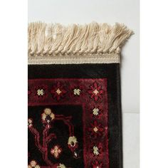 """Dynamic Rugs Crown Red/Black Area Rug Rug Size: 7'10"""" x 10'10"""""""