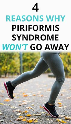 Heres why nothing is working to fix piriformis syndrome for good. You e stretching and doing your physio exercises but relief is short-lived. Find out why you can heal from piriformis syndrome. Hip Pain Relief, Sciatica Pain Relief, Sciatic Pain, Lower Back Pain Relief, Piriformis Exercises, Sciatica Stretches, Yoga Exercises, Piriformis Syndrome Symptoms, Piriformis Syndrome Treatment