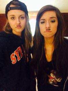 Christina and Bria
