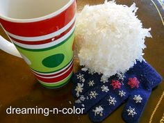 Snow Ball Craft -- Dreaming in Color
