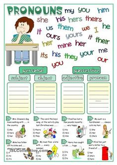 A simple matching activity and a short multiple choice exercise to teach pronouns. Hope you find it useful. Greyscale and KEY included. Have a nice day mada:) - ESL worksheets