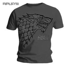 Official t #shirt game of #thrones grey direwolf ao #stark all sizes, View more on the LINK: http://www.zeppy.io/product/gb/2/361337607018/