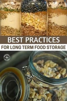 Best Practices For Long Term Food Storage | Posted by: SurvivalofthePrepped.com