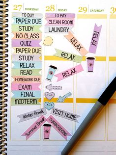 College Discover 95 College Stickers School Stickers Watercolor Flags Fits Erin Condren and others Kiss Cut Calendar Stickers Scrapbooking Journal College Supplies, College Hacks, School Supplies, School Hacks, Calendar Stickers, Scrapbook Stickers, Planner Stickers, Printable Calendars, College Organization