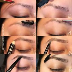 Tweezerman brow tutorial step by step
