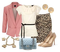 """""""FORMAL"""" by outfits-de-moda2 ❤ liked on Polyvore featuring Forever 21, Oasis, Charles David, Dorothy Perkins, Givenchy, Hermès and Chanel"""