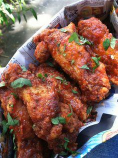 Honey-Sriracha Chicken Wings