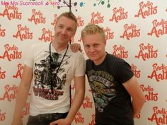 Marko and Olli interviewed at Helsinki Day Concert 2011 (photos by Tiia Santavirta & Hiro)