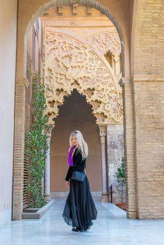 #Zaragoza #Aljaferia #Spain #travel #travelblogger #fashion #fashionblogger #ootd