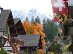 Gorgeous! Autumn colours Gstaad Switzerland Repinned by www.gorara.com