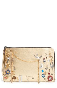 MARC JACOBS 'Large Charms & Trinkets' Pouch