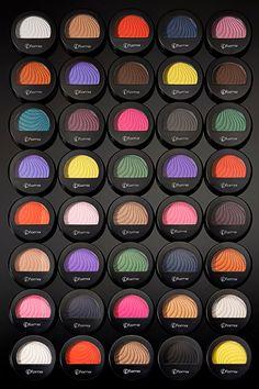 ¡Explosión de #color con nuestras #sombras Mono eyeshadows! ¿Cuál es tu favorita?