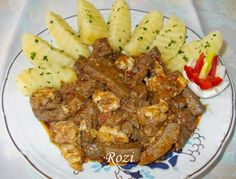 Rozi erdélyi,székely konyhája: Böllérmáj velővel Steak, Pork, Food And Drink, Favorite Recipes, Beef, Meals, Kale Stir Fry, Meat, Meal