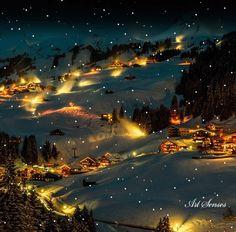Photo: Ho voglia di neve... e di tutto il silenzio che si porta dietro.... Vi auguro una notte bella. Un abbraccio a tutti
