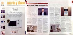 Newatt-ADV / Nº389 Noviembre / Revista Marrón y Blanco / Entrevista a Nacho Herrero (Product Manager de Newatt Corporation). #Newatt #calefaccion #ahorro #eficiencia