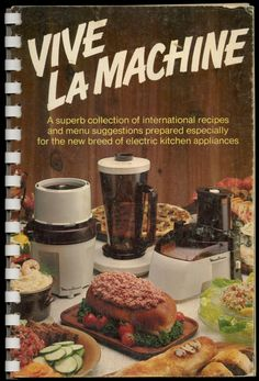 Pesto Dip With Vegetables, Marinated Mushrooms, Walnut Cream Sauce - Vive La Machine, 1977  http://www.amazon.com/gp/product/B001NQZPEG/ref=cm_sw_r_tw_myi?m=A3FJDCC1SFO8CE