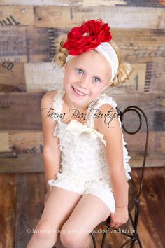 Cream & Red Vintage 2 pc Lace Petti Romper Set, Infant outfit, Toddler outfit, birthday outfit, Newborn outfit https://www.etsy.com/listing/150715578/cream-red-vintage-2-pc-lace-petti-romper?ref=shop_home_active
