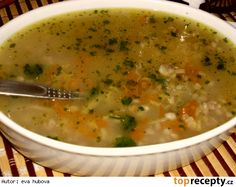 Russian Recipes, Cheeseburger Chowder, Soup Recipes, Food And Drink, Health Fitness, Low Carb, Gluten Free, Vegan, Cooking