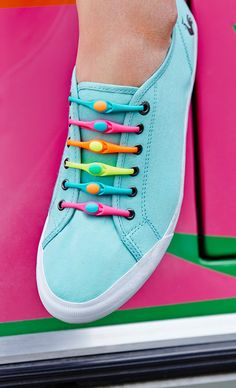 Hickies are a fun alternative to boring laces!