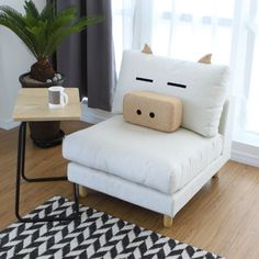 Pig chair. Well that's just AWESOME.