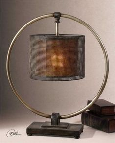 Shop this uttermost dalou hanging shade table lamp from our top selling Uttermost lamps. LuxeDecor is your premier online showroom for lighting and high-end home decor. Silver Lamp, Metal Table Lamps, Rustic Table Lamps, Creative Lamps, Floor Lamp, Contemporary Table Lamps, Rustic Lamps, Cool Lamps, Modern Lamp