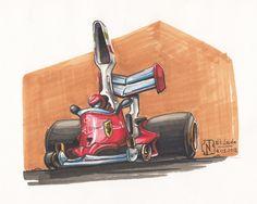 Crazy F1 of 70's - Niki Lauda by nitrouzzz.deviantart.com on @deviantART