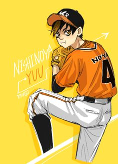 "yango86: "" Baseball player Noya-★"
