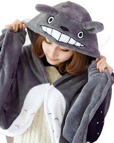 Umart Anime Cosplay Totoro Ghibli Costume Cloak Shawl Cape ** Want additional info? Click on the image.