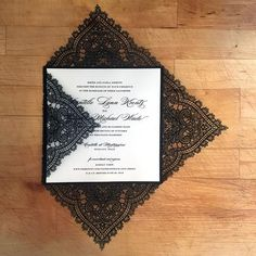 Paper Orchid has added a new format to our Chantilly Lace design collection. This Square Invite is perfect for any special event.