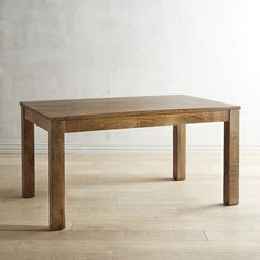Our handcrafted solid mango wood table has all the qualities of the original created at the Parsons School almost 90 years ago: Balanced proportions, straightforward lines and flush, squared-off legs. Pair it with coordinating dining chairs and cherished side pieces (sold separately). Its look is as versatile as it is famous, so you can mix it with a traditional or modern pieces. This particular dining table features adjustable levelers and seats four to six quite comfortably.