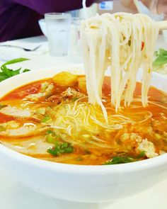 Noodle soup is just the kind of meal that is needed after a nice long weekend! Or on a daily basis.