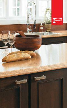 Deja que tu cocina hable por sí sola con los laminados de #Formica.