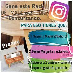 """Nuevo CONCURSO Para poder PARTICIPAR necesitas: 1. Seguir  a  MaderaStudio_cl 2. Darle """"like"""" a este post. 3. Etiqueta a 2 amigos y comenta porque te gustaría ganartelo. El sorteo se realizará el día Lunes 3 de junio. OJO! No incluye despacho. #sorteos#sorteo#concurso #concursochile#ciberday #ciberdaycl #concursos #chilegram #madera#muebles#muebleria#hechoamano#hechoenchile#hechodemadera#chile#decoracion#deco#diseño#stgo#diseñochileno#santiago"""